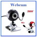 WEBcam 16mpx nero rosso