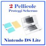 pellicola schermo nintendo DS Lite
