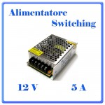 ALIMENTATORE SWITHCHING 12V 5A