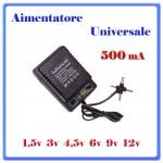 ALIMENTATORE UNIVERSALE Run&Teng 500mA  RT-308