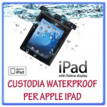 Custodia IPAD WATER