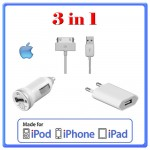 KIT iPHON iPAD iPOD APPLE 3in1