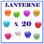 LANTERNE CINESI X 20
