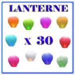 LANTERNE CINESI X 30