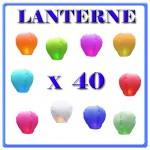 LANTERNE CINESI X 40