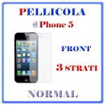 PELLICOLA FRONT IPHONE 5 NORMAL MIRROR