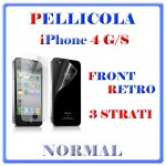 PELLICOLA iPHONE 4 GS FROMT RETRO