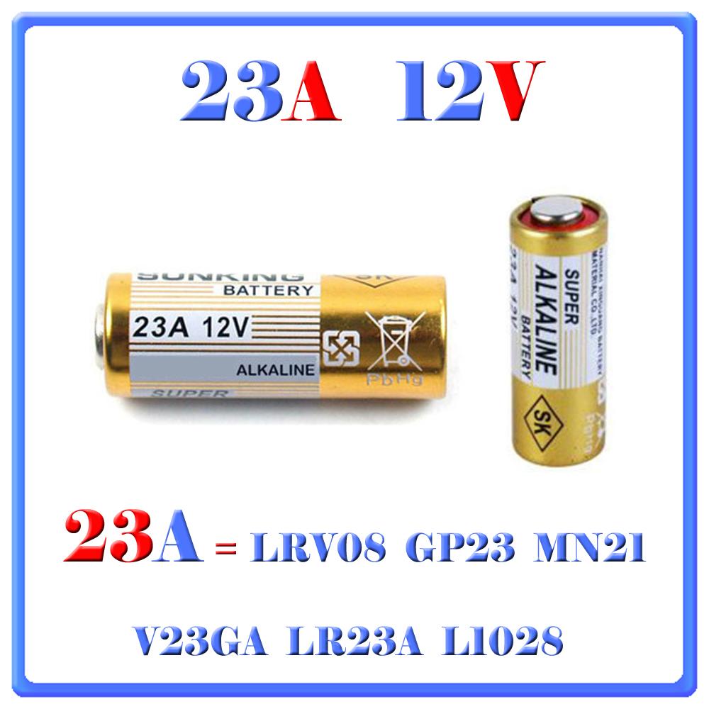5 pile batterie 12v 23a lrv08 gp23 mn21 v23ga lr23a l1028 gv store - Pile 12v 23a ...