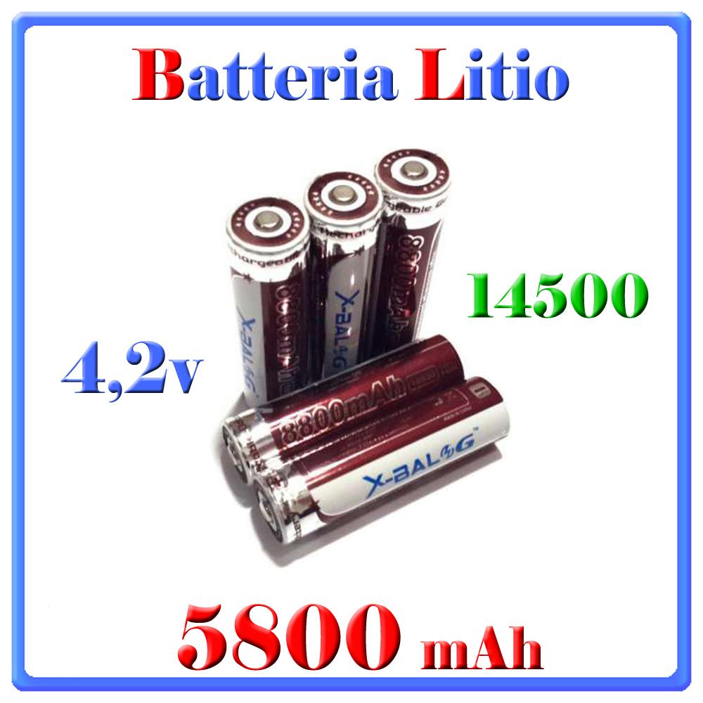 BATTERIA 5800mah 18650x-balog