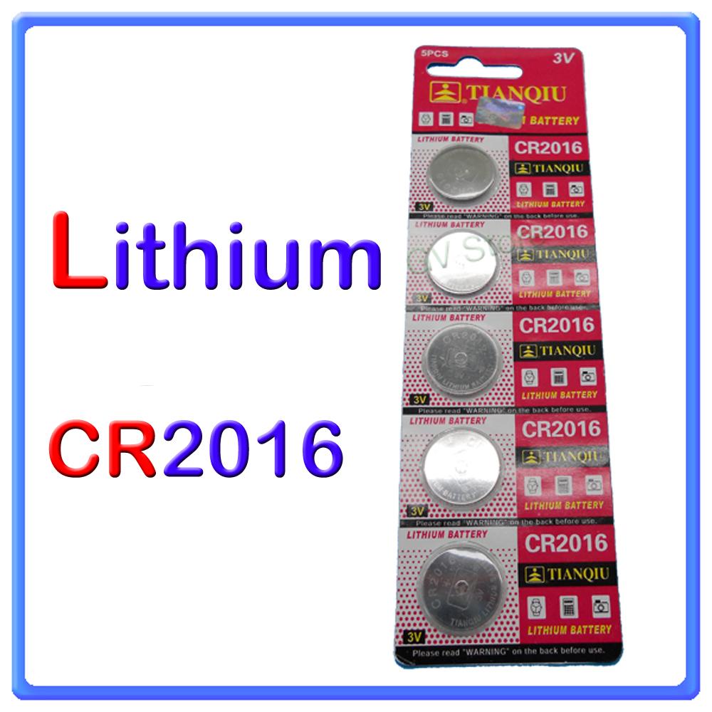 5 batterie pile cr2016 3v a bottone lithium gv store. Black Bedroom Furniture Sets. Home Design Ideas