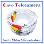 CAVO TELECAMERA AV CC12V